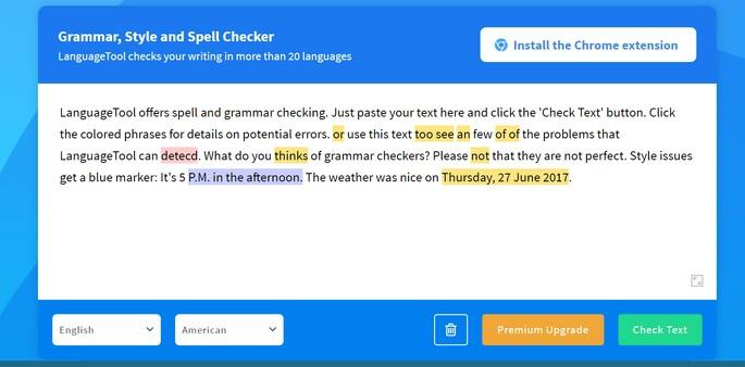 LanguageTool corretor ortográfico