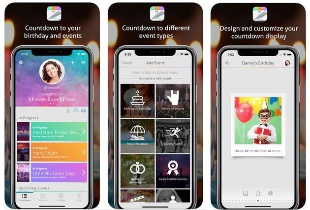 App contar dias iphone