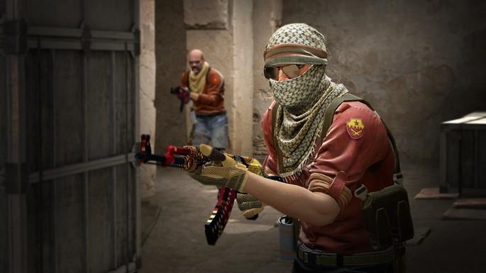 Imagem de divulgação do jogo CS:GO