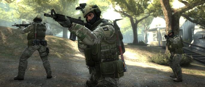 tela do jogo CS:GO