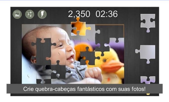 imagem de divulgação do app Cut My Puzzle