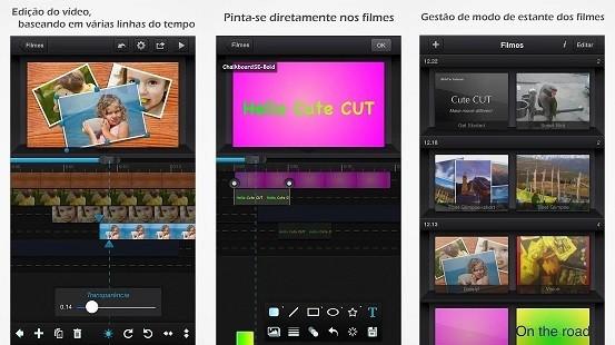Editor de vídeo Cute CUT