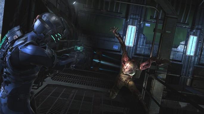 Imagem de divulgação do jogo Dead Space 2