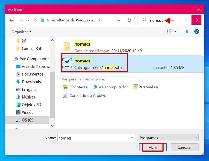 Definindo aplicativo como padrão para abrir imagens no Windows