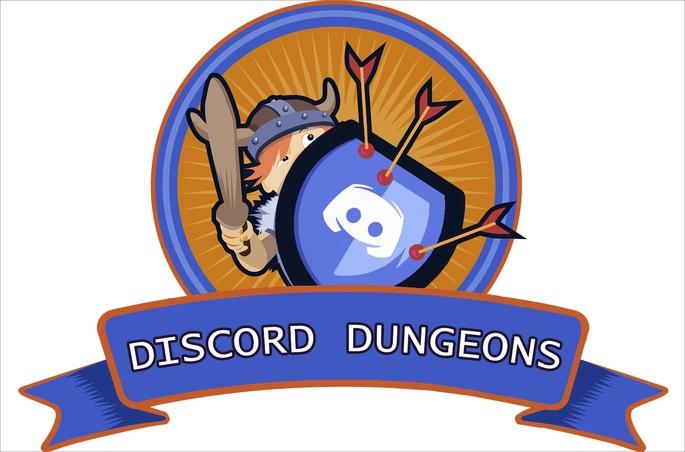 Logo do bot para discord Discord Dungeons