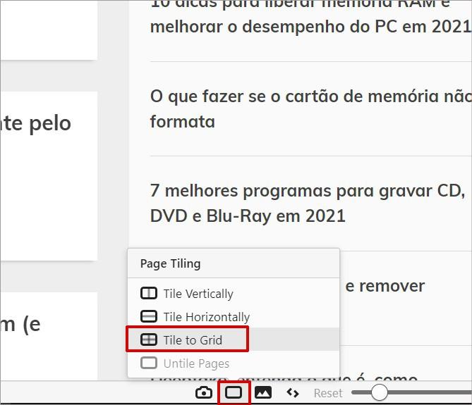 Dividindo a tela do navegador em várias partes