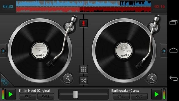 Aplicativo DJ Studio