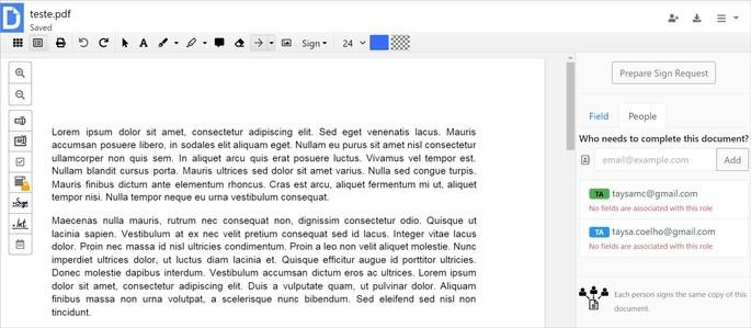 Editor de PDF DocHub