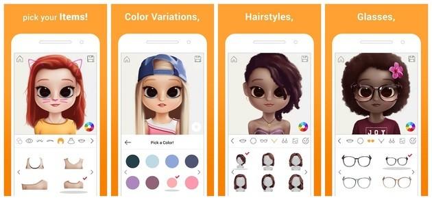 Criar avatar com o Dollify