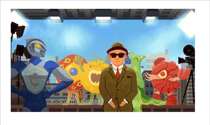 Doodle do Google com jogo para fazer filme japonês