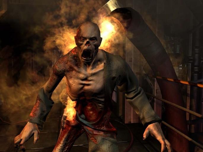 Imagem de divulgação do jogo Doom 3