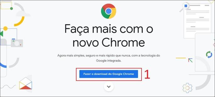 Baixar e instalar o Google Chrome off-line