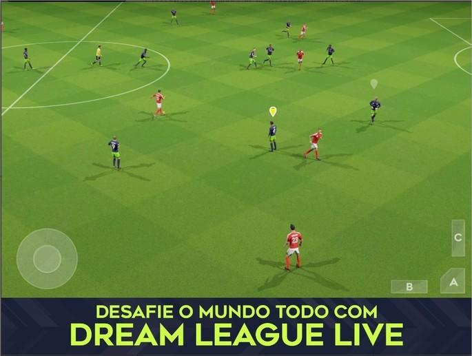 Imagem de divulgação do jogo Dream League Soccer