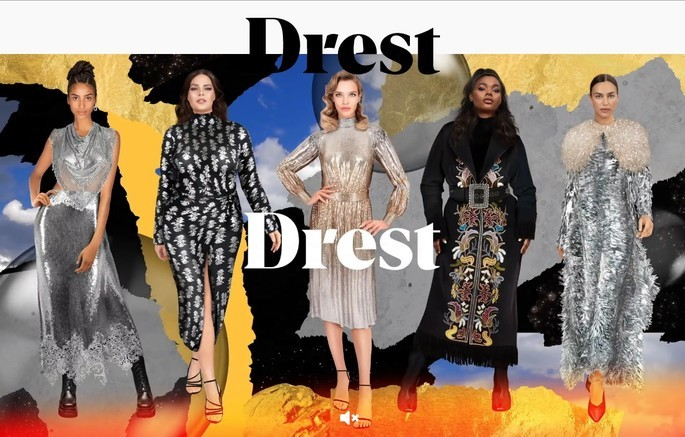 Aplicativo de moda Drest