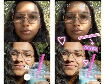 Como colocar duas fotos no mesmo Story do Instagram sem baixar nada