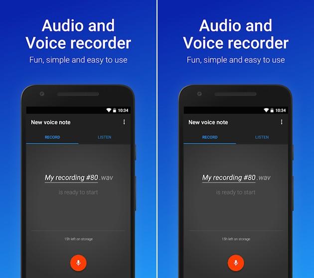 Como o próprio nome sugere, o Easy Voice Recorder é bastante fácil de usar. A tela inicial do app já é a de gravação e a interface limpa deixa bem claro o que deve ser feito. Se quiser, antes de fazer a captura, pode alterar o nome de arquivo sugerido. Depois, basta apertar o botão sinalizado por um microfone para começar. Para conferir o resultado, compartilhá-lo ou mesmo definir como toque do celular, acesse a aba ouvir, também na tela inicial do programa. Nas configurações do aplicativo, é possível definir o tipo de uso para ajuste do microfone, entre notas de voz, reuniões e palestras, música e som puro. O usuário também é capaz de alterar o formato do arquivo entre WAV (melhor qualidade), MP4 (tamanho e qualidade equilibrados) e AMR (menor tamanho e qualidade). Para quem tem interesse em realizar as gravações de forma oculta, deve acessar o item Interface, nas Configurações, e ativar a chave relacionada à opção Ocultar notificações da tela de bloqueio. Sendo assim, após bloquear a tela do aparelho, nada indicará que o áudio está sendo capturado, nem mesmo o ícone do programa. O Easy Voice Recorder está disponível gratuitamente para dispositivos Android e iOS.