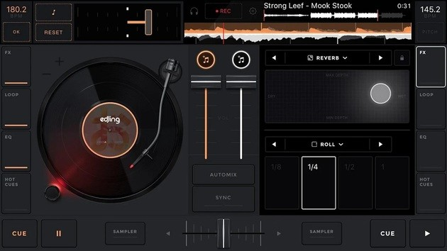 Aplicativo de DJ edjing MIx