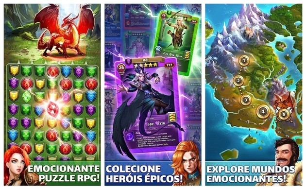RPG Empires & Puzzles