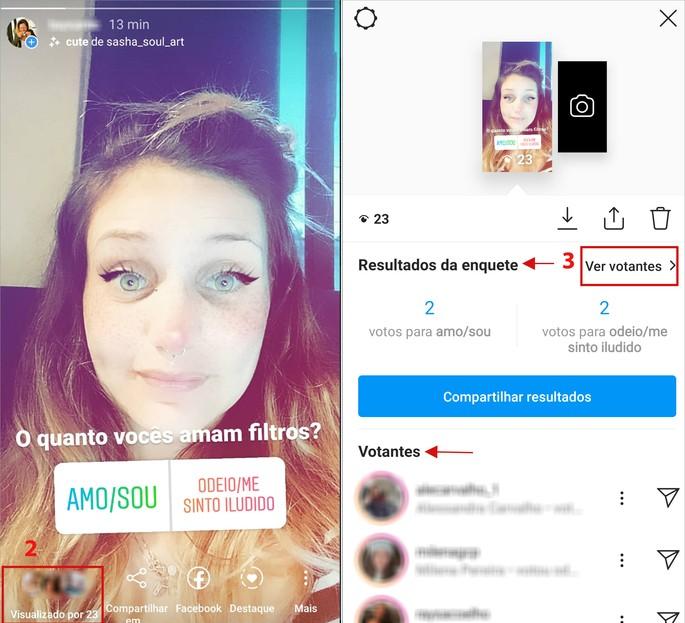 Fazer enquete no Instagram