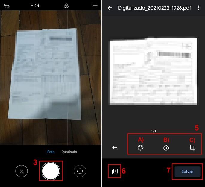 Como escanear um documento no Android com o Google Drive