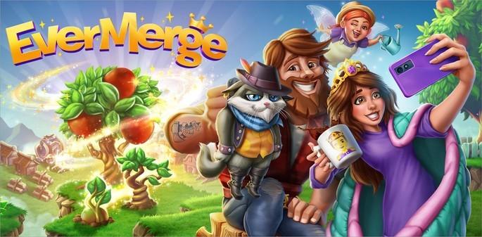 Imagem de divulgação do jogo de quebra-cabeça EverMerge