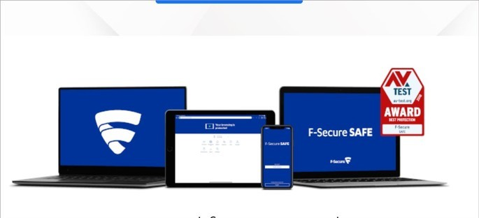 Imagem de divulgação do app de segurança para Android F‑Secure SAFE