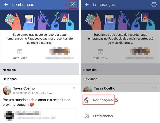 Lembrança Facebook