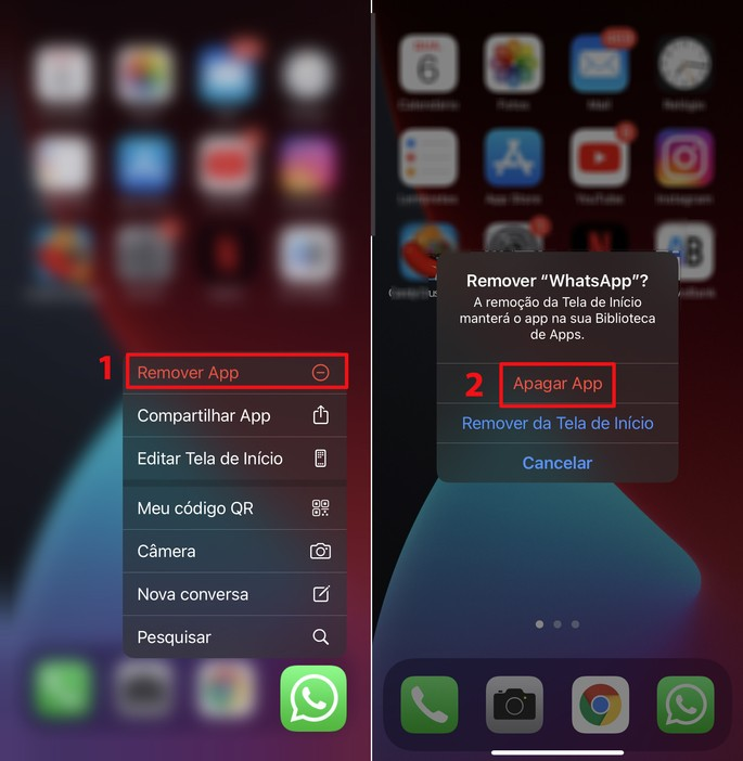 Como restaurar mensagens apagadas do WhatsApp no iOS
