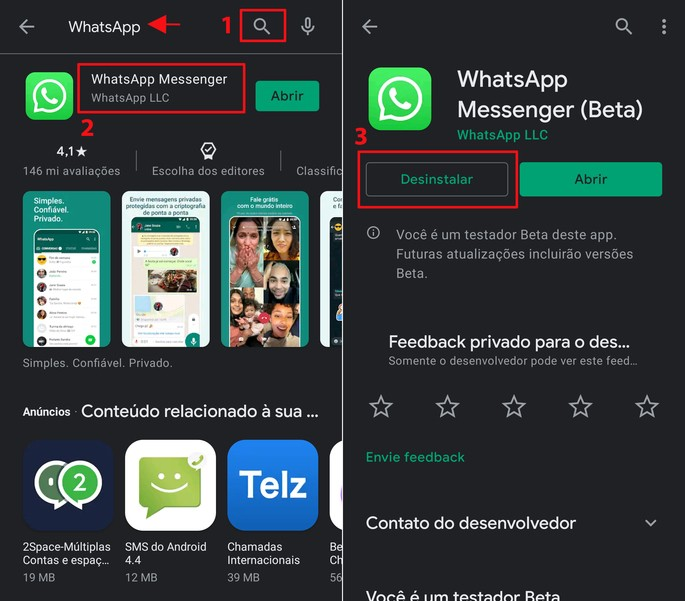 Como recuperar mensagens deletadas do WhatsApp no Android