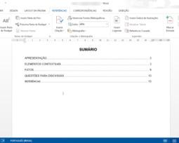 Como fazer sumário no Word e no Google Docs automaticamente