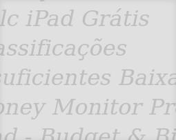 Aplicativos de Finanças