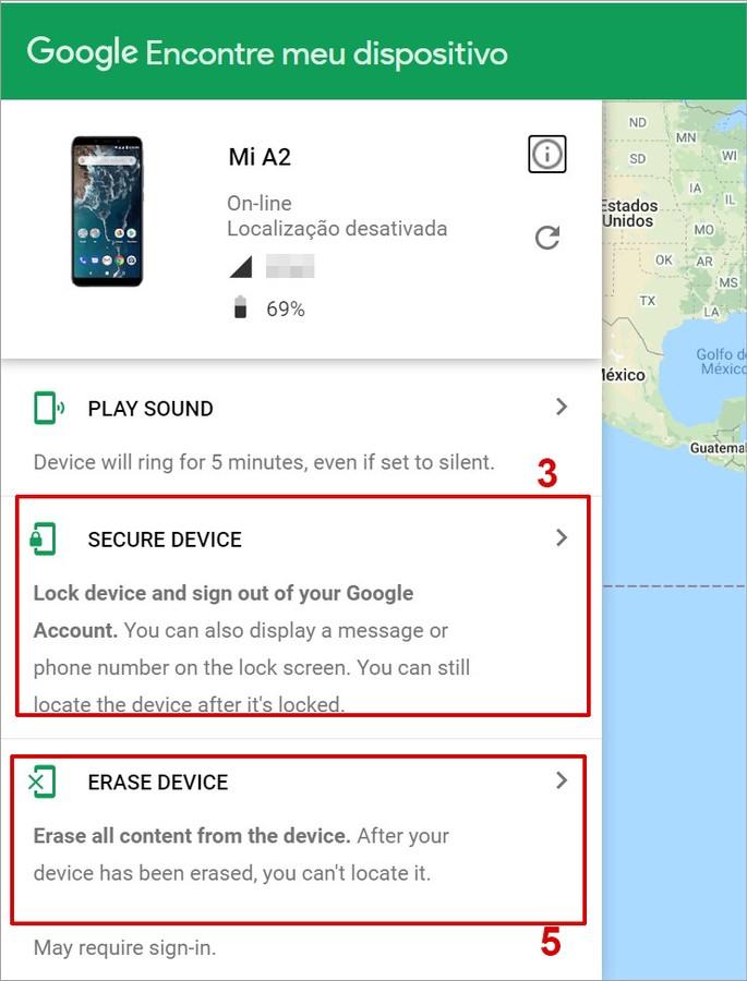 Como bloquear o celular Android remotamente