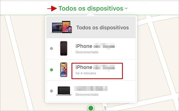 Como bloquear o iPhone online