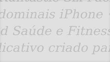 Aplicativos de Fitness
