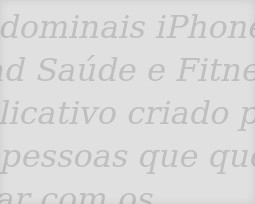 Aplicativos de Fitness