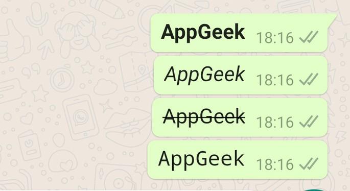 Mudar fonte WhatsApp