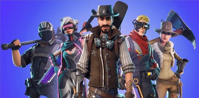 Imagem de divulgação do jogo Fortnite