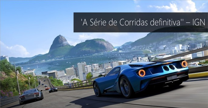 Imagem de divulgação do jogo de corrida para PC forza motorsport 6 apex