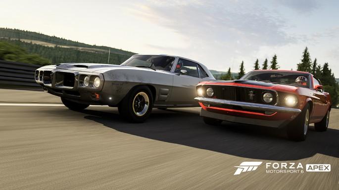 imagem de divulgação do jogo Forza Motorsport 6 Apex