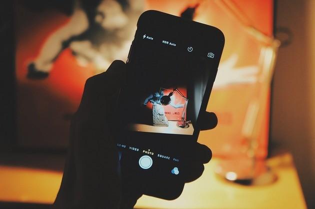 Foto com o celular