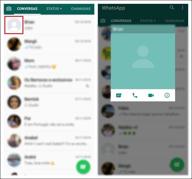 Foto de perfil desapareceu no WhatsApp