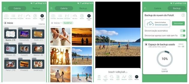 Esconder fotos com o FotoX