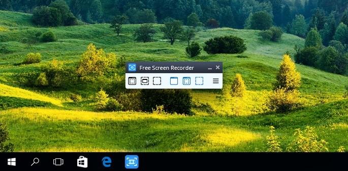 Free Screen Video Recorder gravador de tela pc fraco