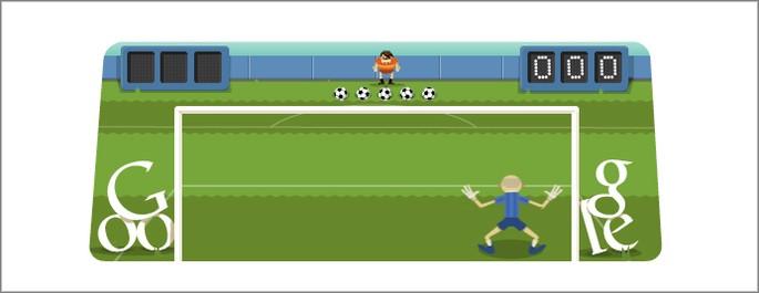 Jogos do Google Futebol