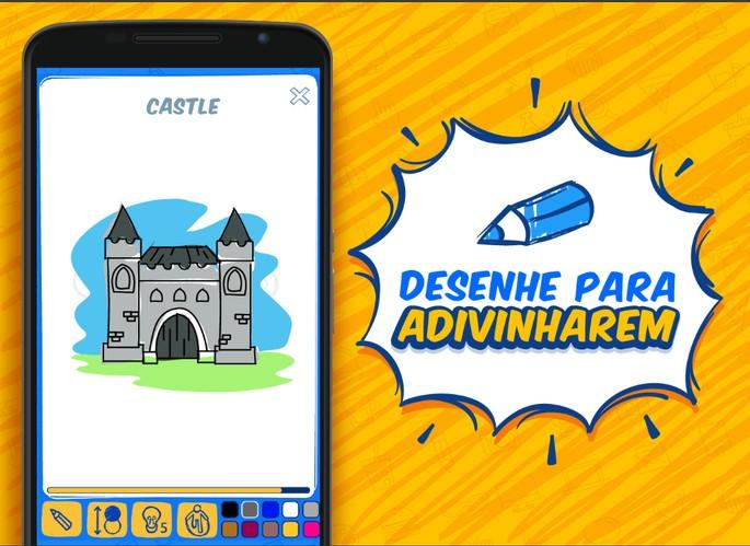 Divulgaçção do app para Android do jogo Gartic.io