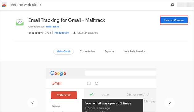 Saber se email foi lido