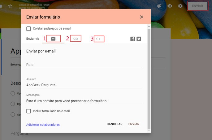 Como usar o Google Forms