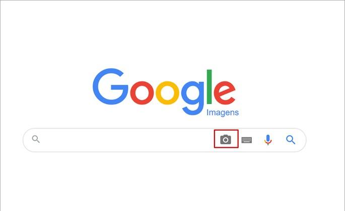 Tela do Google Images no PC