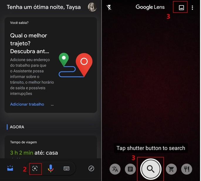 google lens no Android