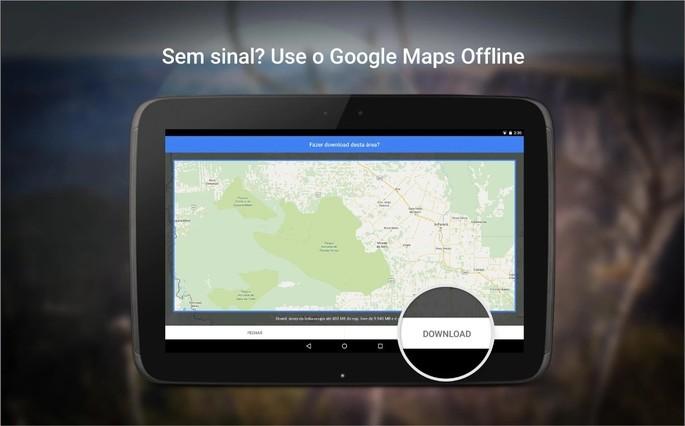 Imagem de divulgaçao do app Google Maps